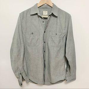 J. Crew Grey Button Down Shirt